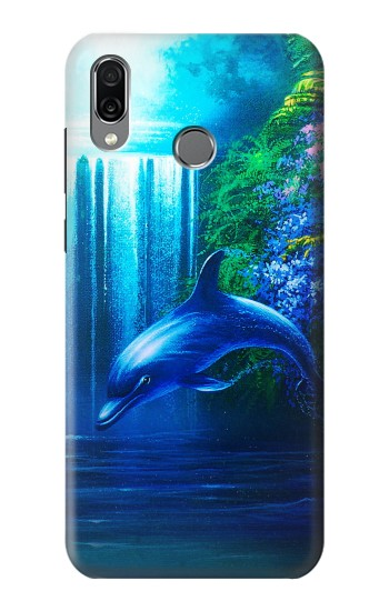 Printed Dolphin Huawei Honor Play Case