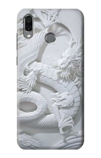 Printed Dragon Carving Huawei Honor Play Case