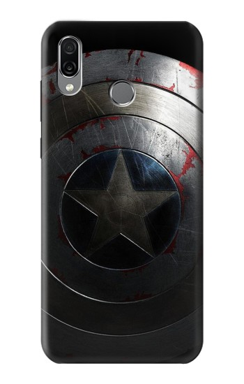 Printed Captain Shield Huawei Honor Play Case