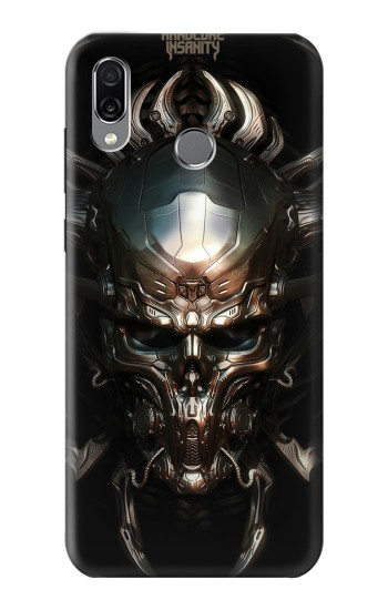 Printed Hardcore Insanity Metal Skull Huawei Honor Play Case