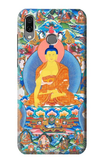 Printed Buddha Paint Huawei Honor Play Case