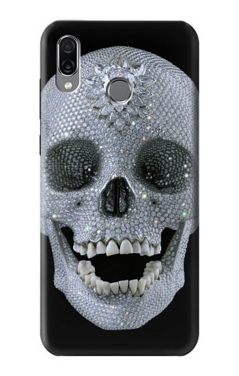 Printed Diamond Skull Huawei Honor Play Case