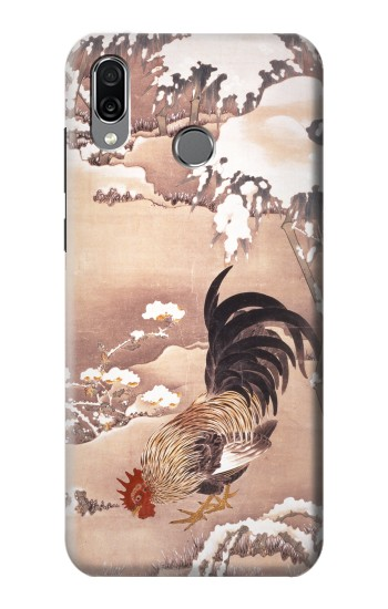 Printed Ito Jakuchu Rooster Huawei Honor Play Case