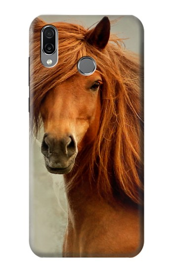 Printed Beautiful Brown Horse Huawei Honor Play Case