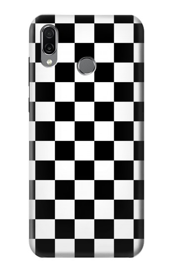 Printed Checkerboard Chess Board Huawei Honor Play Case