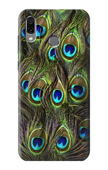 Printed Peacock Feather Huawei Honor Play Case