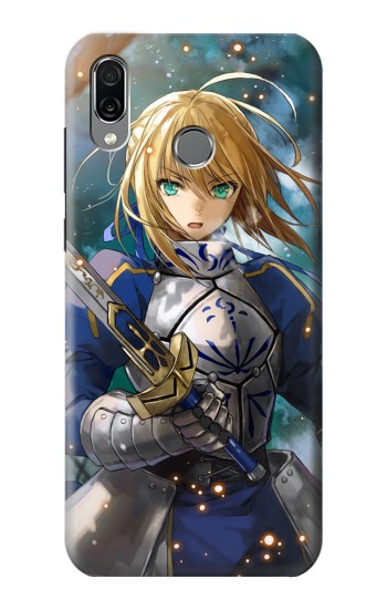 Printed Fate Stay Night Saber Arturia Pendragon Huawei Honor Play Case