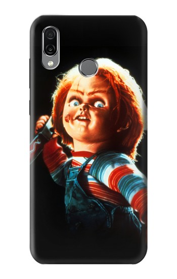 Printed Chucky With Knife Huawei Honor Play Case