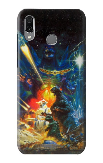 Printed Godzilla VS Space Godzilla Huawei Honor Play Case