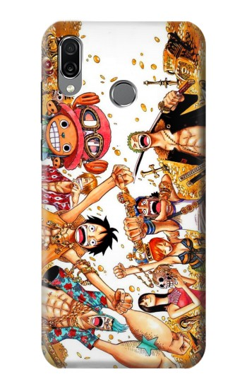 Printed One Piece Straw Hat Luffy Pirate Crew Huawei Honor Play Case