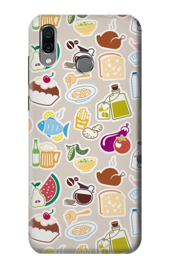 Printed Food and Drink Seamless Huawei Honor Play Case