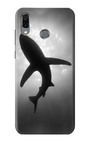 Printed Shark Monochrome Huawei Honor Play Case