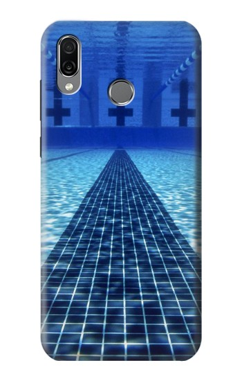 Printed Swimming Pool Huawei Honor Play Case