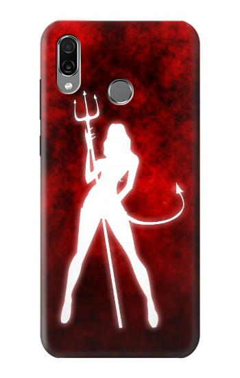 Printed Sexy Devil Girl Huawei Honor Play Case