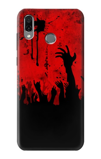 Printed Zombie Hands Huawei Honor Play Case