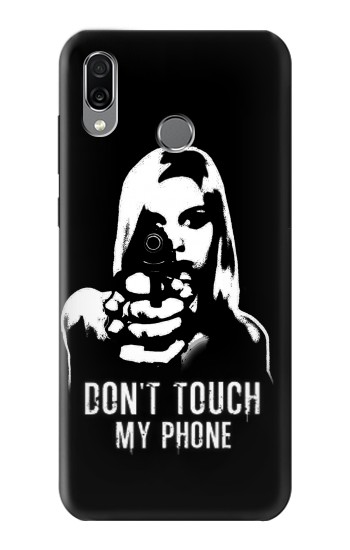 Printed Girl Do Not Touch My Phone Huawei Honor Play Case
