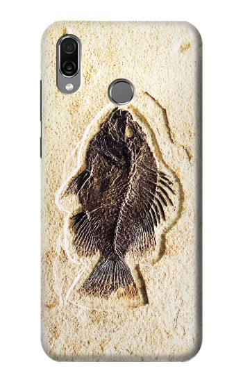 Printed Fossil Fish Huawei Honor Play Case