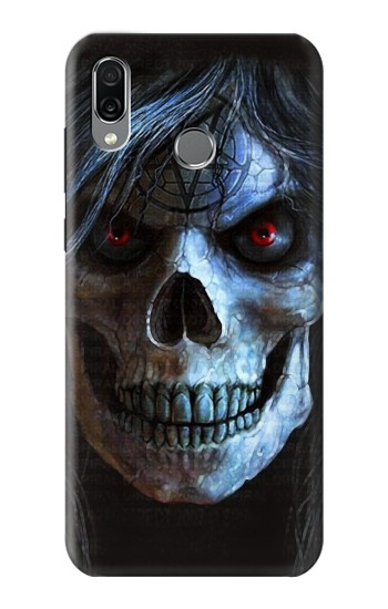 Printed Evil Death Skull Huawei Honor Play Case