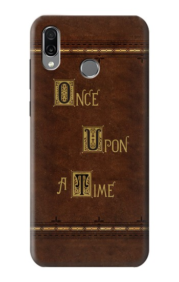 Printed Once Upon A Time Book Huawei Honor Play Case