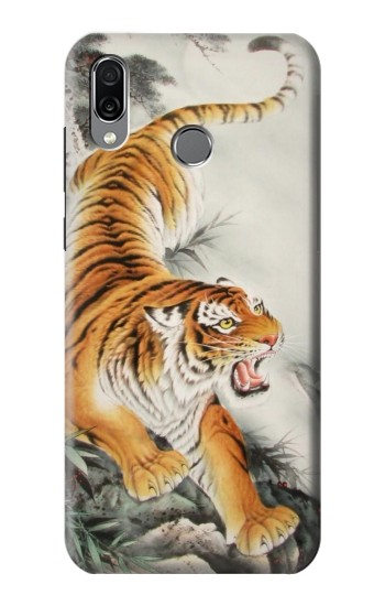 Printed Chinese Tiger Tattoo Painting Huawei Honor Play Case