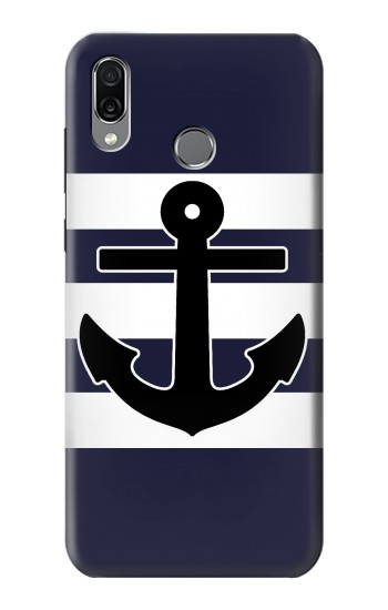 Printed Anchor Navy Huawei Honor Play Case