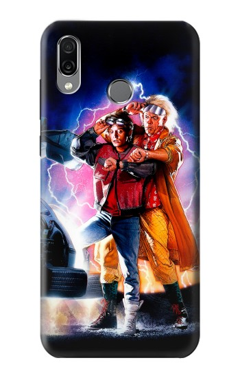 Printed Back to the Future Huawei Honor Play Case