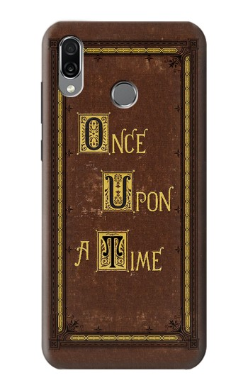Printed Once Upon a Time Book Cover Huawei Honor Play Case