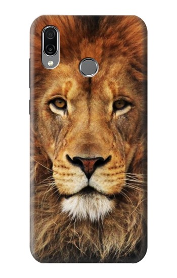 Printed Lion King of Beasts Huawei Honor Play Case