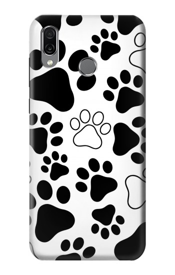 Printed Dog Paw Prints Huawei Honor Play Case