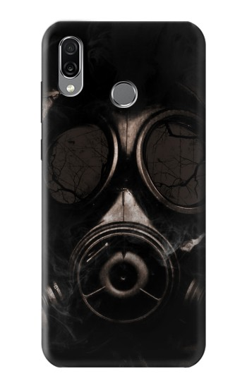 Printed Gas Mask Huawei Honor Play Case
