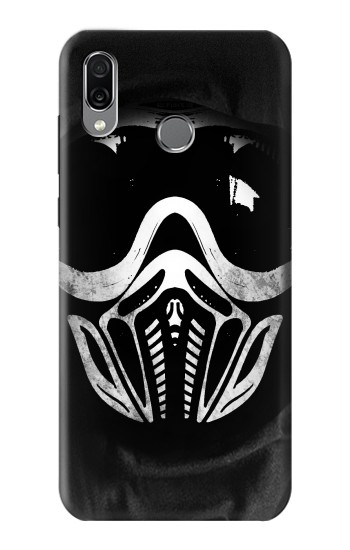 Printed Paintball Mask Huawei Honor Play Case