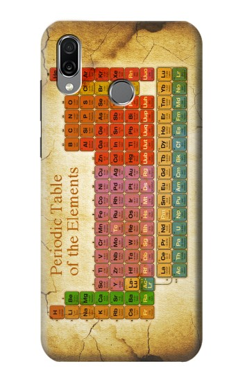 Printed Vintage Periodic Table of Elements Huawei Honor Play Case