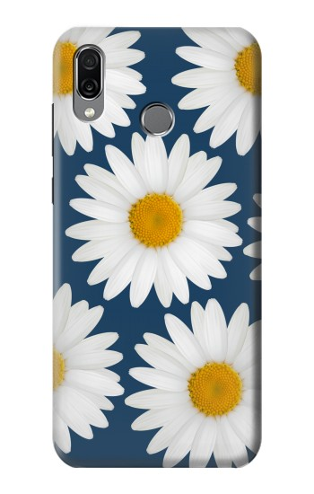 Printed Daisy Blue Huawei Honor Play Case