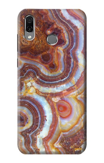 Printed Colored Marble Texture Printed Huawei Honor Play Case
