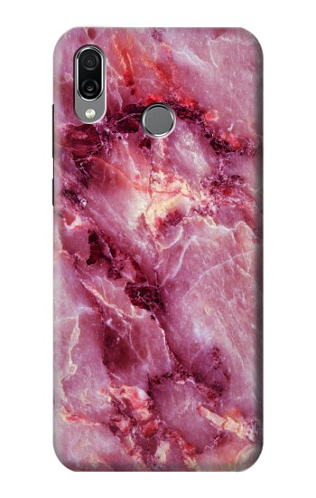 Printed Pink Marble Texture Huawei Honor Play Case