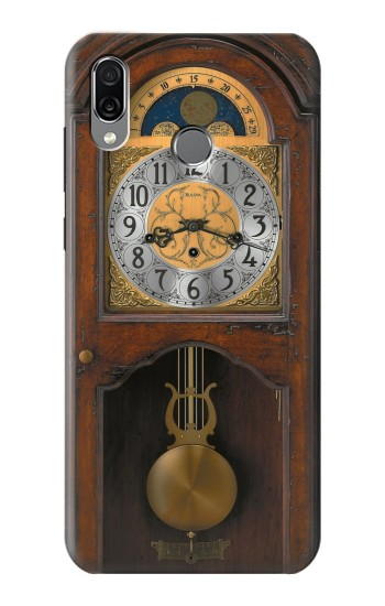 Printed Grandfather Clock Antique Wall Clock Huawei Honor Play Case