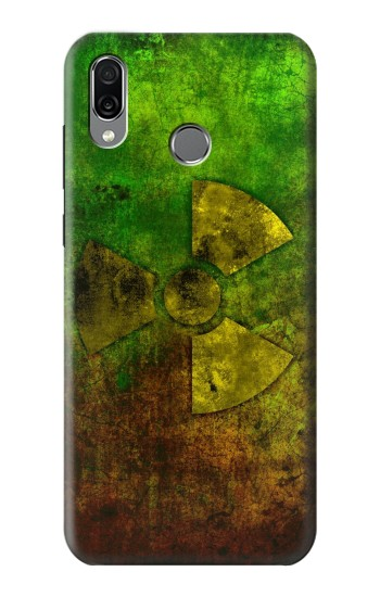 Printed Radioactive Symbol Huawei Honor Play Case