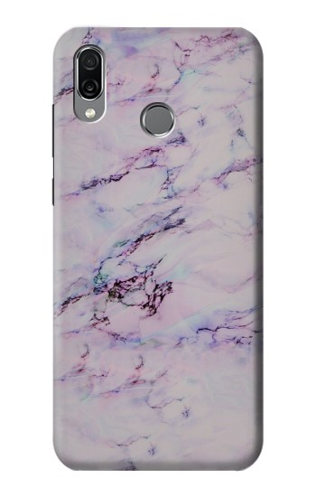 Printed Seamless Pink Marble Huawei Honor Play Case