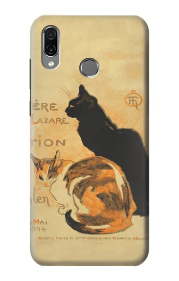 Printed Vintage Cat Poster Huawei Honor Play Case