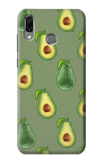 Printed Avocado Fruit Pattern Huawei Honor Play Case
