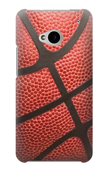 Printed Basketball HTC One M7 Case