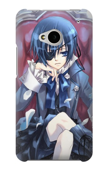 Printed Black Butler Ciel HTC One M7 Case