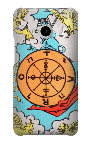 Printed Tarot Fortune HTC One M7 Case