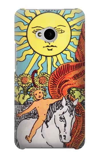 Printed Tarot Sun HTC One M7 Case