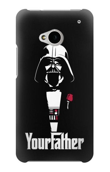 Printed Yourfather HTC One M7 Case