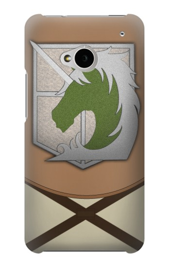 Printed Attack on Titan Military Police Uniform HTC One M7 Case