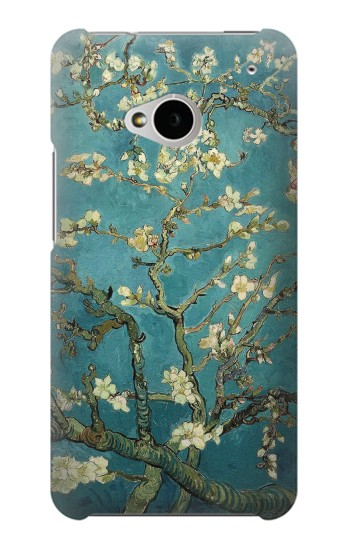 Printed Blossoming Almond Tree Van Gogh HTC One M7 Case