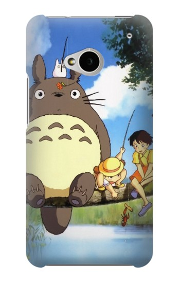 Printed Totoro and Friends HTC One M7 Case