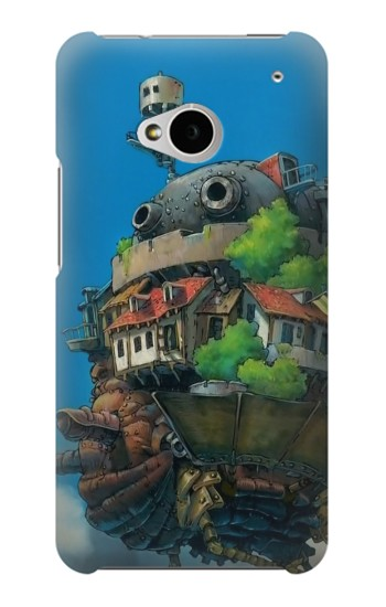 Printed Howl's Moving Castle Hauru no Ugoku Shiro HTC One M7 Case