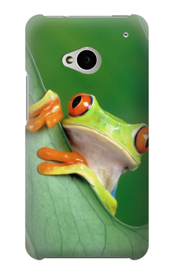 Printed Little Frog HTC One M7 Case
